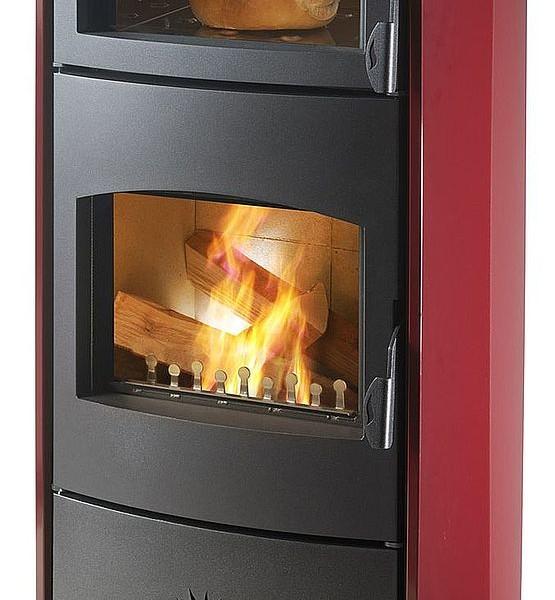 Stufa a legna con forno cs thermos ariel - Stufe a legna occasione ...