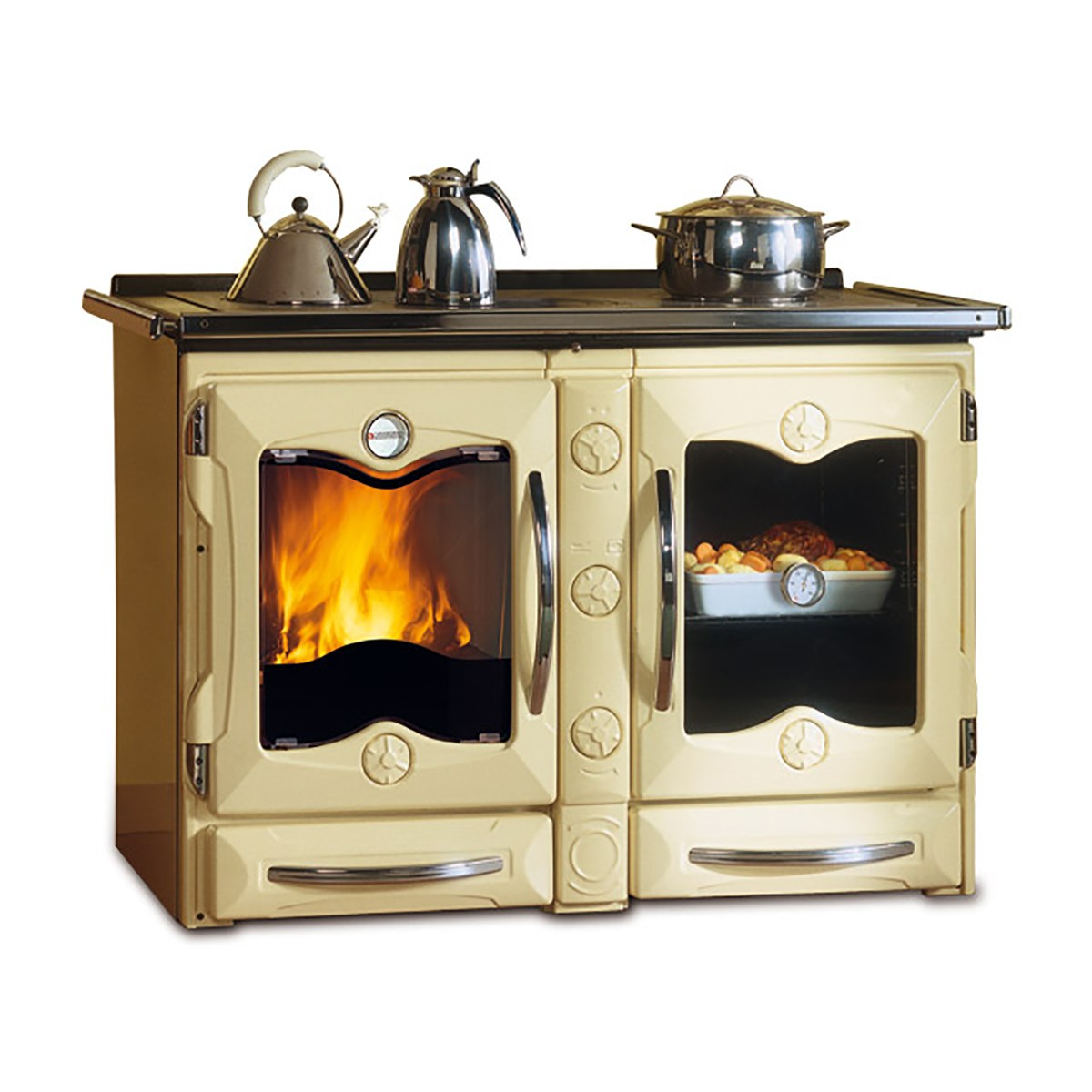 Cucina a legna America La Nordica Extraflame