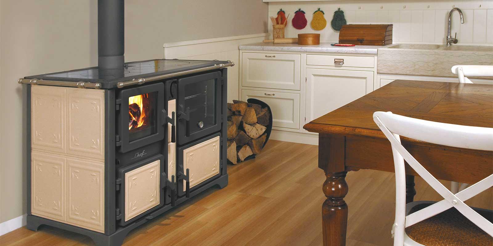 Caldaie stufe termocamini a legna e pellet tutto per il riscaldamento a legna e pellet - Cucine a pellet prezzi ...
