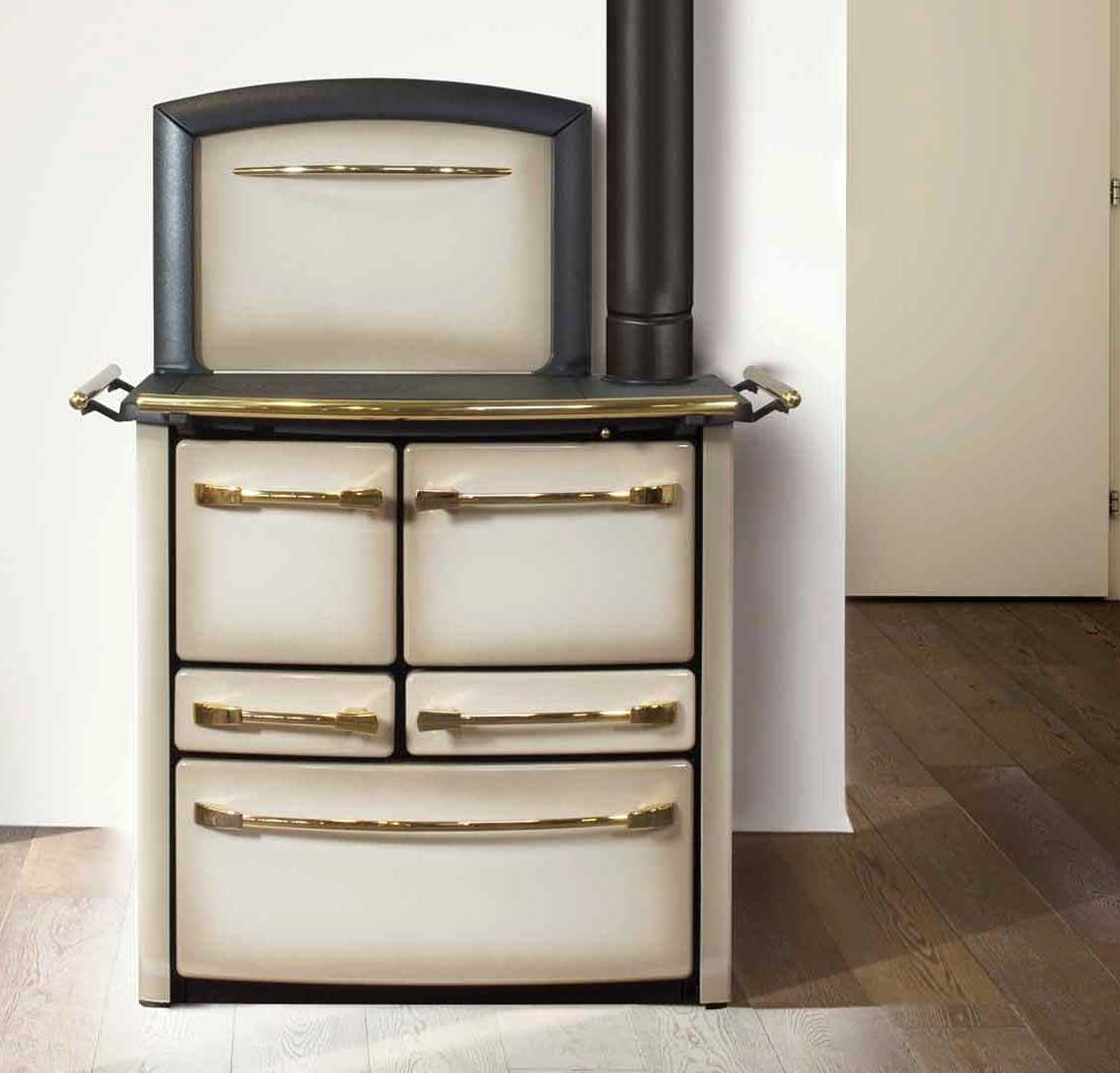 Cucina a legna Valentina 148 - 148 V Lincar - Caldaie Stufe ...