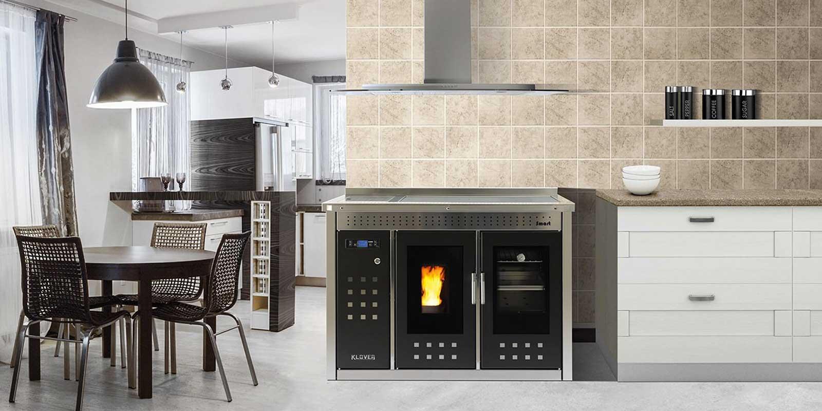Klover SMART modello dotato di forno di cottura