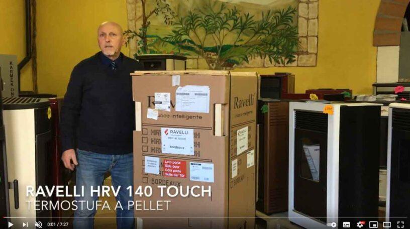 Video Ravelli HRV 140 Touch